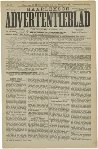 Haarlemsch Advertentieblad 1900-02-28