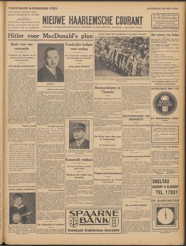Nieuwe Haarlemsche Courant 1933-05-20