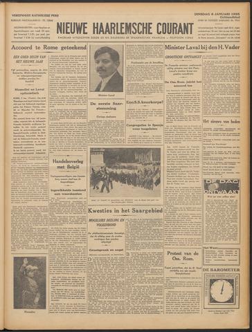 Nieuwe Haarlemsche Courant 1935-01-08