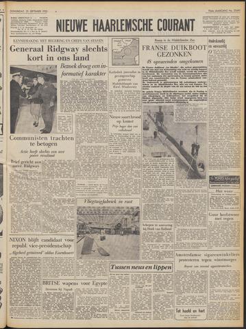 Nieuwe Haarlemsche Courant 1952-09-25