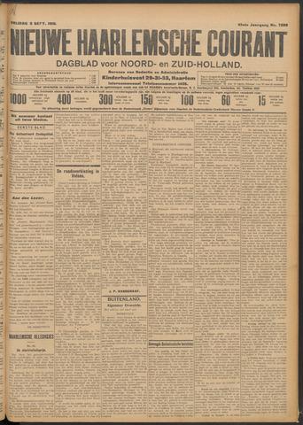 Nieuwe Haarlemsche Courant 1910-09-09