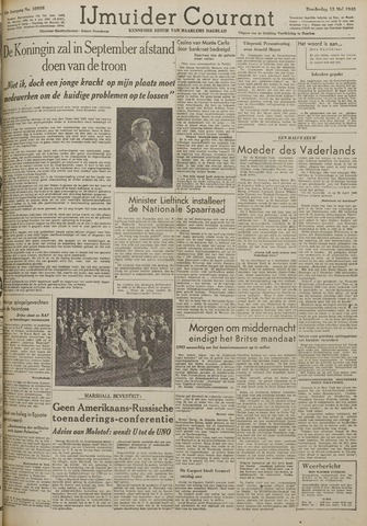 IJmuider Courant 1948-05-13