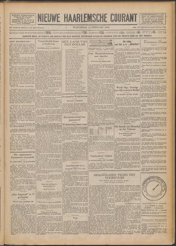Nieuwe Haarlemsche Courant 1930-02-12