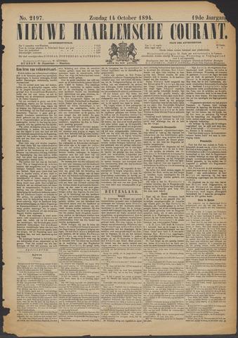 Nieuwe Haarlemsche Courant 1894-10-14