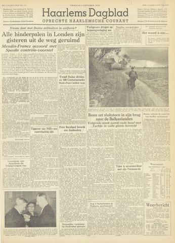 Haarlem's Dagblad 1954-10-01