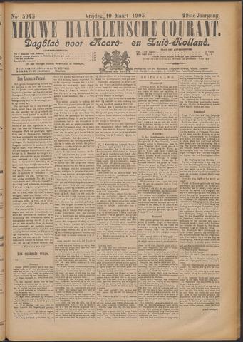Nieuwe Haarlemsche Courant 1905-03-10