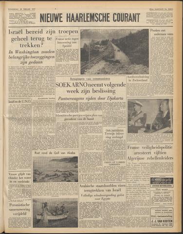 Nieuwe Haarlemsche Courant 1957-02-28