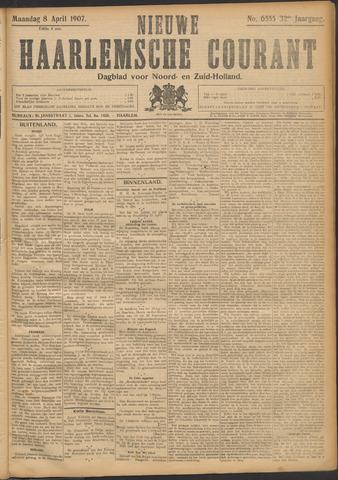 Nieuwe Haarlemsche Courant 1907-04-08