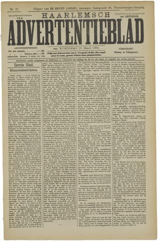 Haarlemsch Advertentieblad 1900-03-21