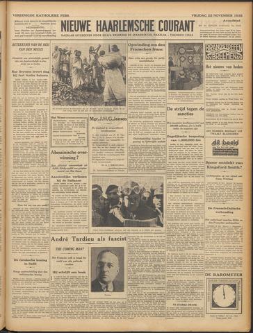 Nieuwe Haarlemsche Courant 1935-11-22