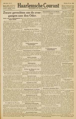 Haarlemsche Courant 1945-01-30