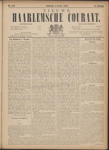 Nieuwe Haarlemsche Courant 1879-10-02