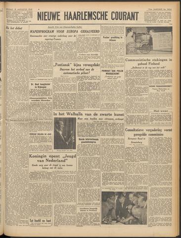 Nieuwe Haarlemsche Courant 1949-08-19