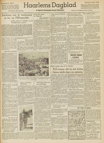 Haarlem's Dagblad 1950-10-09