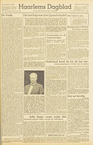 Haarlem's Dagblad 1945-08-21