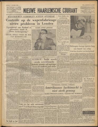 Nieuwe Haarlemsche Courant 1954-10-01