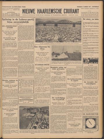 Nieuwe Haarlemsche Courant 1937-01-27