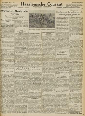 Haarlemsche Courant 1942-07-30