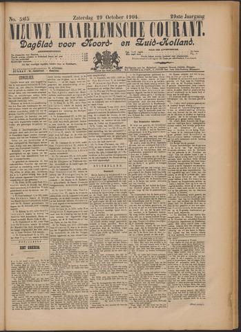 Nieuwe Haarlemsche Courant 1904-10-29