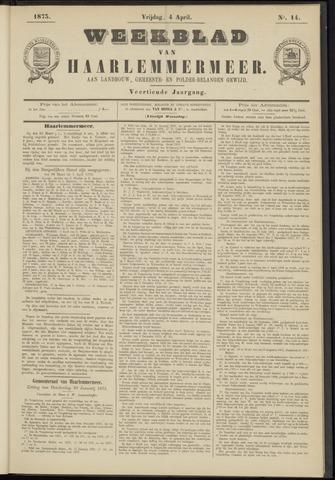 Weekblad van Haarlemmermeer 1873-04-04