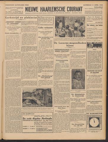 Nieuwe Haarlemsche Courant 1936-04-11
