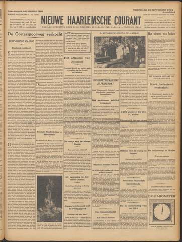 Nieuwe Haarlemsche Courant 1934-09-26