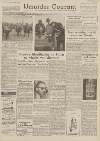 IJmuider Courant 1959-01-02