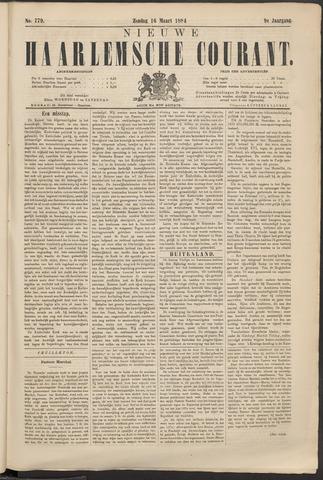 Nieuwe Haarlemsche Courant 1884-03-16