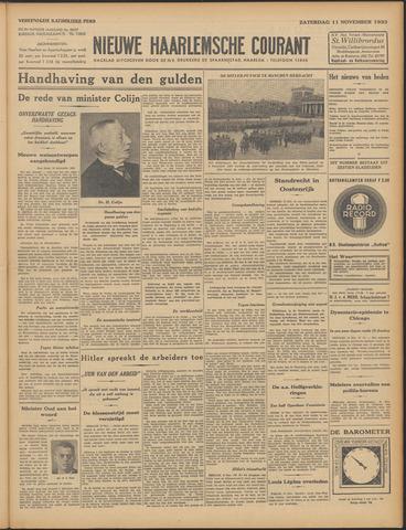 Nieuwe Haarlemsche Courant 1933-11-11