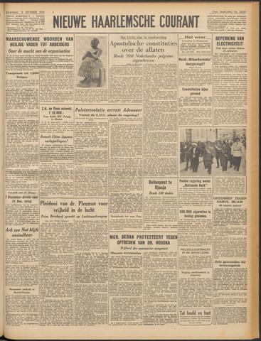 Nieuwe Haarlemsche Courant 1949-09-12