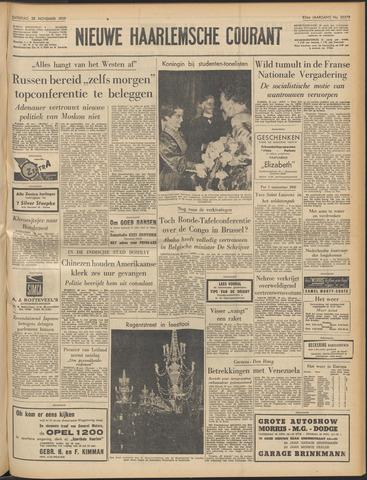 Nieuwe Haarlemsche Courant 1959-11-28