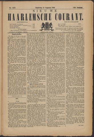 Nieuwe Haarlemsche Courant 1889-08-15
