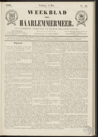 Weekblad van Haarlemmermeer 1860-05-04