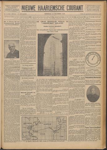Nieuwe Haarlemsche Courant 1928-10-16