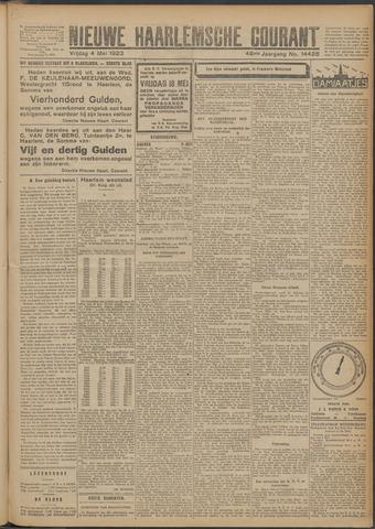 Nieuwe Haarlemsche Courant 1923-05-04