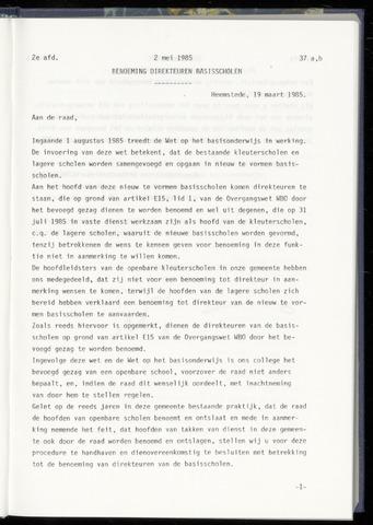 Raadsnotulen Heemstede 1985-05-02