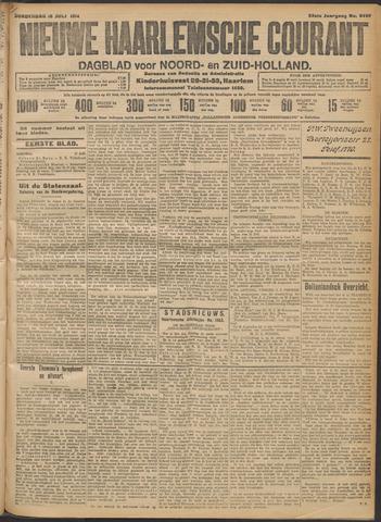 Nieuwe Haarlemsche Courant 1914-07-16