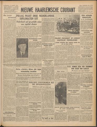 Nieuwe Haarlemsche Courant 1950-03-08