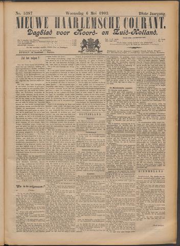 Nieuwe Haarlemsche Courant 1903-05-06
