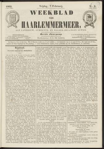 Weekblad van Haarlemmermeer 1862-02-07