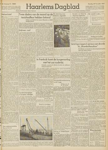 Haarlem's Dagblad 1947-11-29