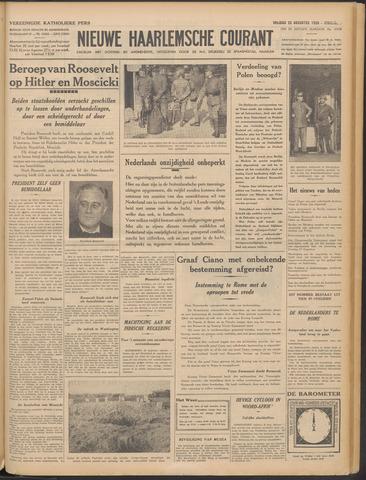 Nieuwe Haarlemsche Courant 1939-08-25
