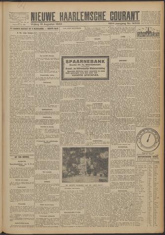Nieuwe Haarlemsche Courant 1923-08-10