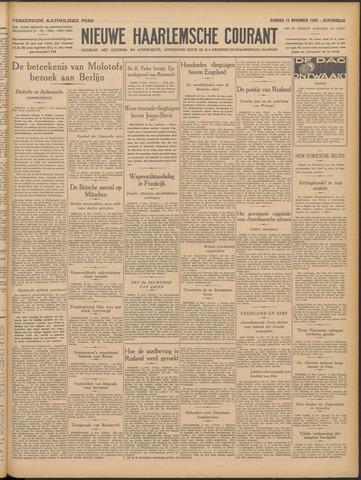 Nieuwe Haarlemsche Courant 1940-11-12