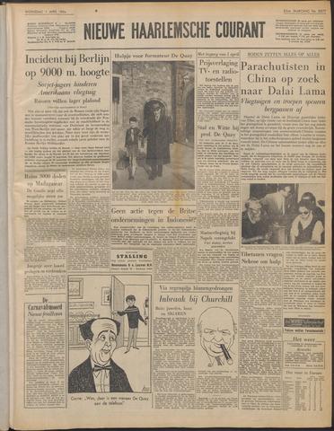 Nieuwe Haarlemsche Courant 1959-04-01