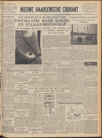 Nieuwe Haarlemsche Courant 1952-09-09
