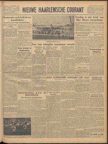 Nieuwe Haarlemsche Courant 1949-09-05