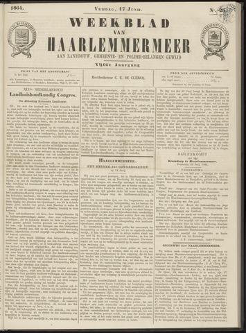 Weekblad van Haarlemmermeer 1864-06-17
