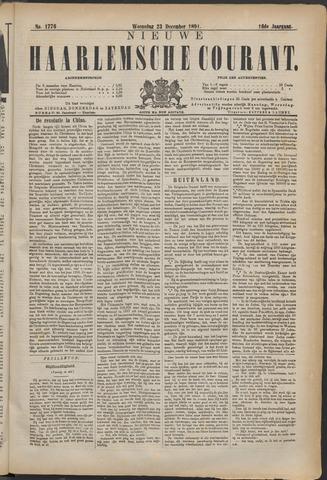 Nieuwe Haarlemsche Courant 1891-12-23