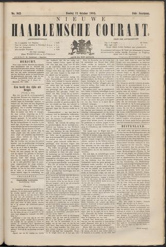 Nieuwe Haarlemsche Courant 1885-10-11